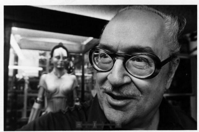 Forrest J. Ackerman, ca. 1970s.