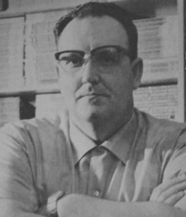 Author Samuel A. Peeples, 1976.