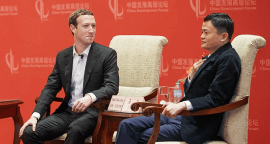 Mark Zuckerberg, Jack Ma, Facebook crisis