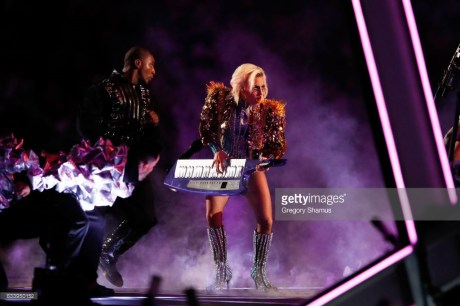 during the Pepsi Zero Sugar Super Bowl 51 Halftime Show at NRG Stadium on February 5, 2017 in Houston, Texas.