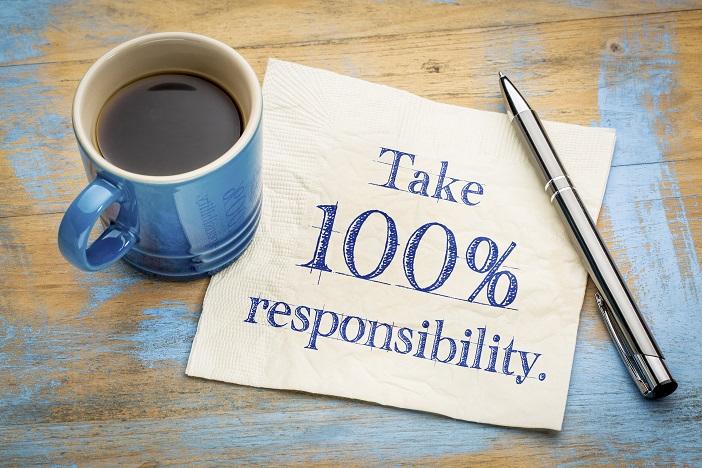 Take on responsibility