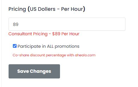 doctor pricing
