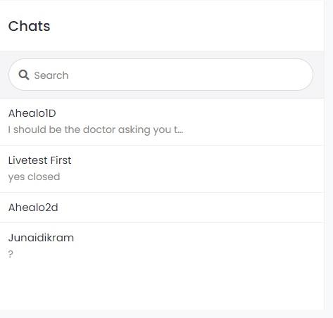 User Chat