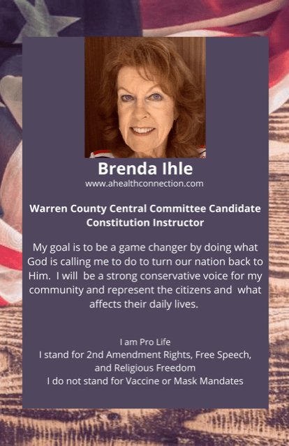 constitution instructor campaign flyer