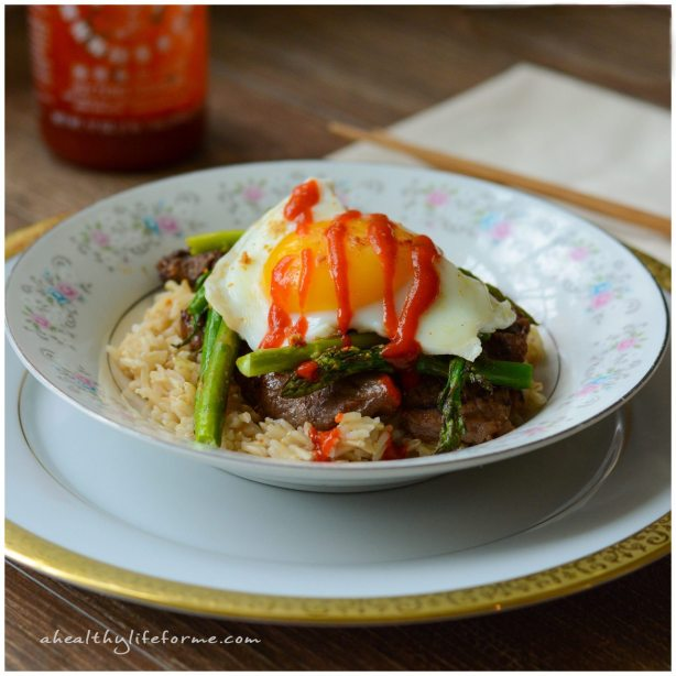 Gluten Free Korean Rice Bowl
