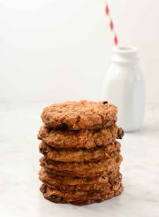 Oatmeal Cherry Cookie Recipe | ahealthylifeforme.com
