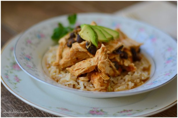 Healthy Gluten Free Chicken Black Beans and Rice Recipe