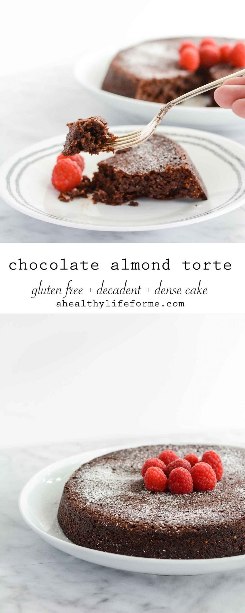 Chocolate Almond Torte A Healthy Life For Me