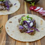 Grilled Steak and Poblano Tacos