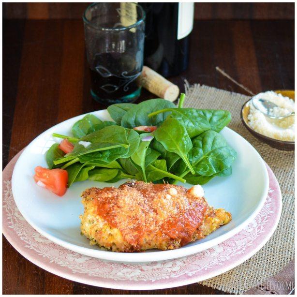Healthy weeknight dinner using chicken breast
