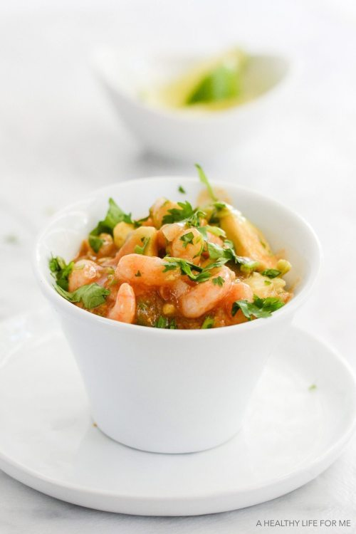 Simple Shrimp Ceviche is a healthy, quick, easy, gluten free dairy free recipe   ahealhtylifeforme.com