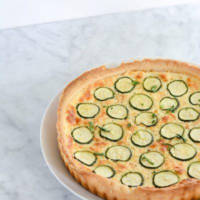 Zucchini Cheese Tart