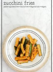Baked Zucchii Fries Recipe | ahealthylifeforme.com