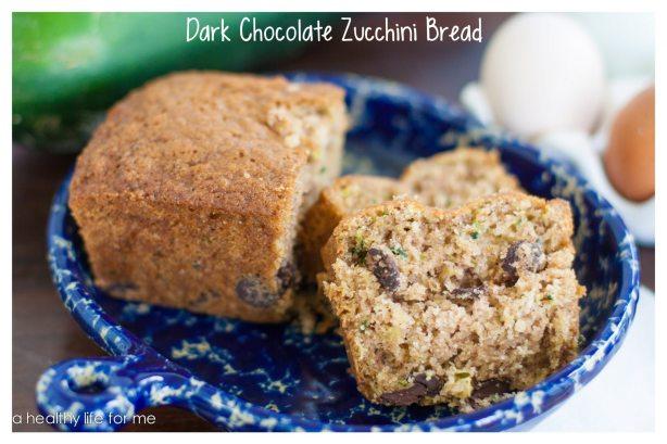 Dark Chocolate Zucchini Bread Recipe Great to Freeze