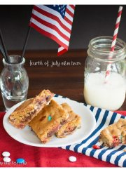 Fourth of July Bars Recipe | ahealthylifeforme.com