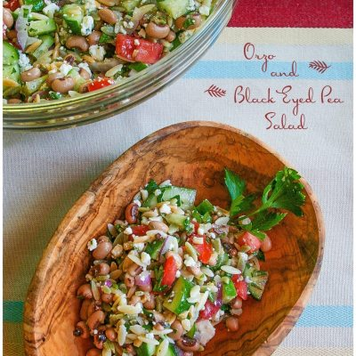 Orzo and Black-Eyed Pea Salad