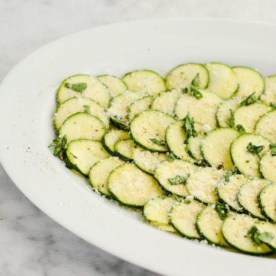 Zucchini Carpaccio