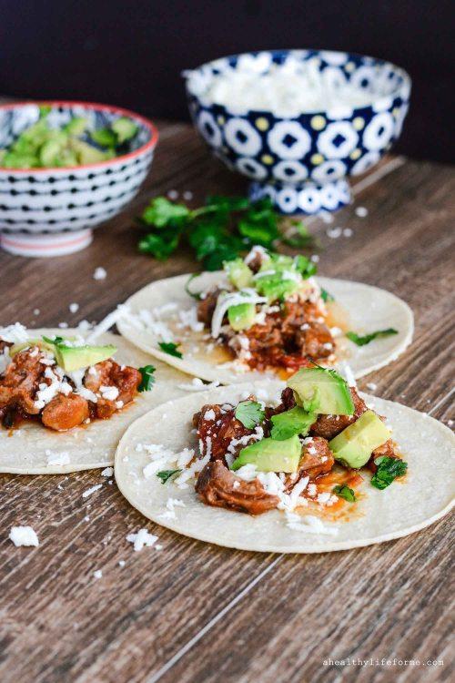Pulled Pork Tacos Gluten Free Weeknight Dinner Recipe   ahealthylifeforme.com