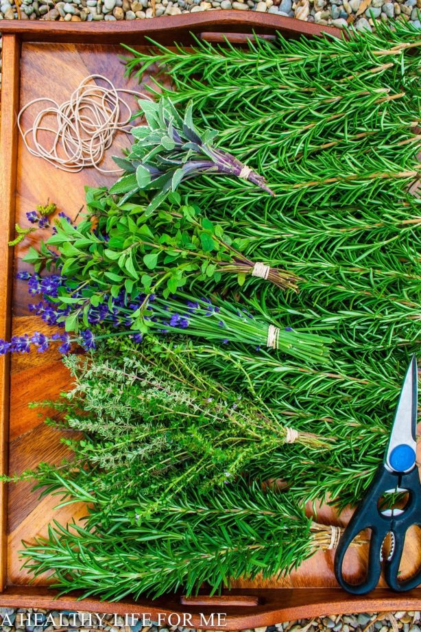How To Dry Herbs | ahealthylifeforme.com
