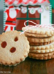 Drei Augen German Shortbread Cookie Recipe | ahealthylifeforme.com