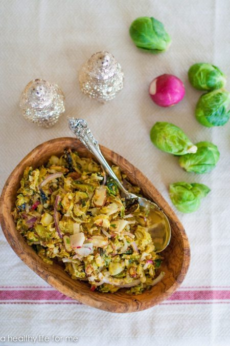 Roasted Brussels Sprouts Slaw-2