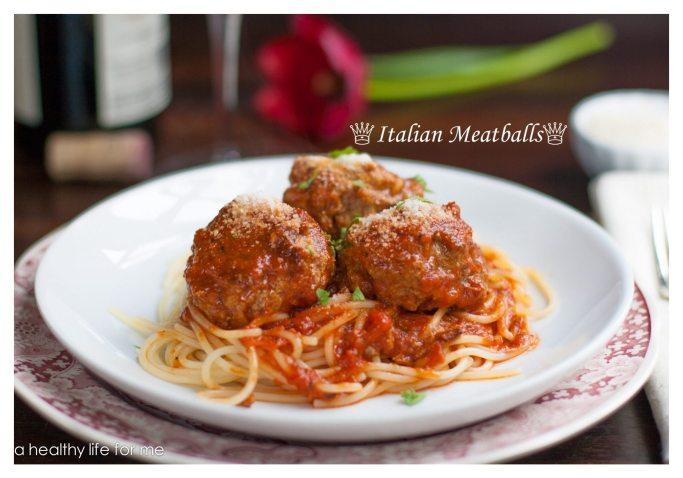 Italian meatball recipe | ahealthylifeforme.com