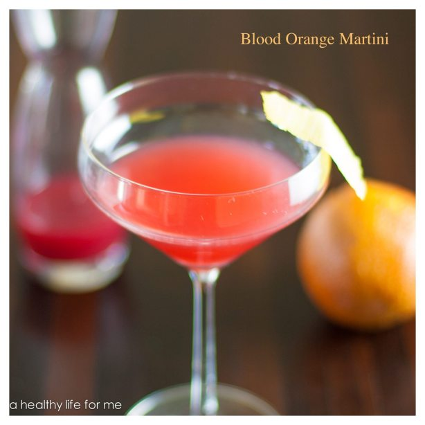 Blood Orange Martini Recipe