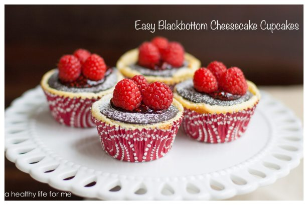 Easy Black-bottom Cheesecake Cupcakes