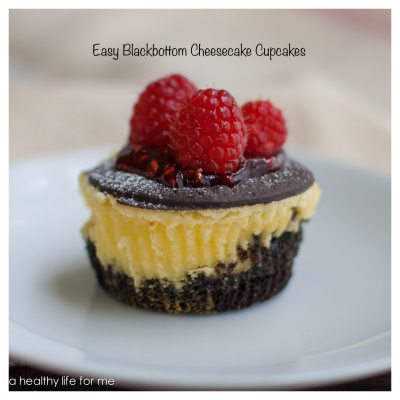 Easy Black-Bottom Cheesecake Cupcakes