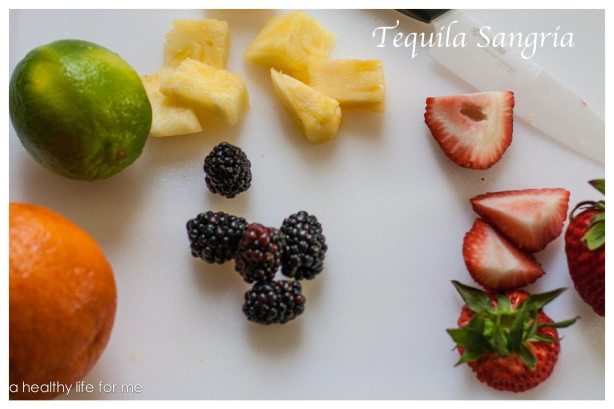 Tequila Sangria at www.ahealthylifeforme.com