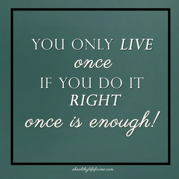 You Only Live Once   Spirulina vs. Cancer