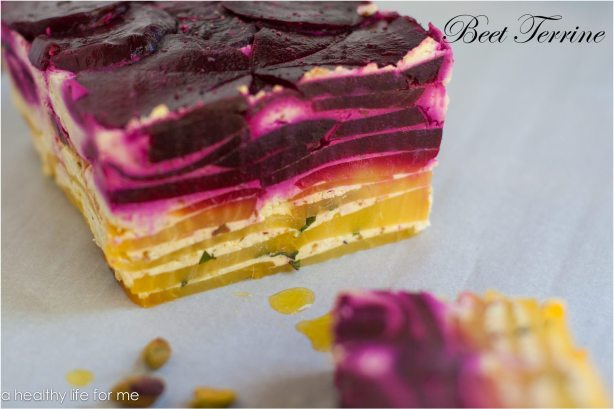 Beet Terrine Recipe | ahealthylifeforme.com