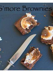 S'more Brownies Recipe | ahealthylifeforme.com