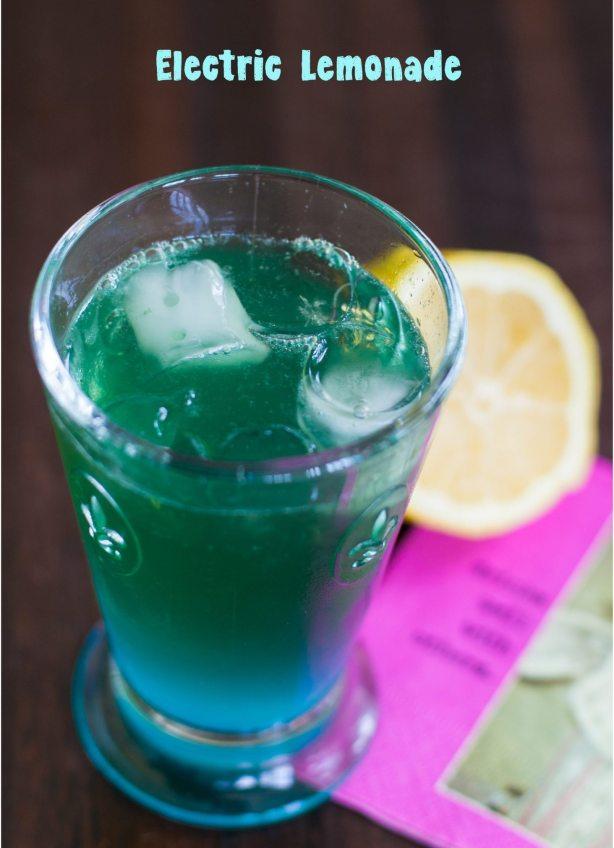 electric lemonade  vodka curaçao lemon juice ginger ale
