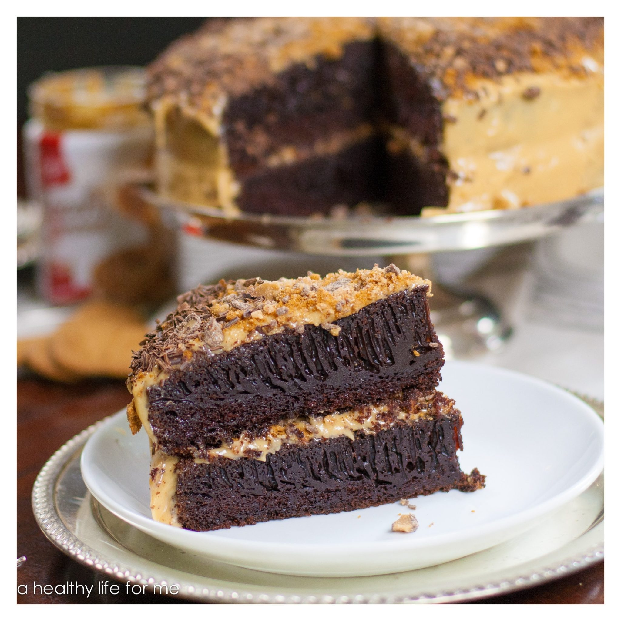 Biscoff Chocolate Coffee Cake » A Healthy Life For Me
