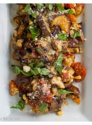 Grilled Eggplant and Tomato Salad 5
