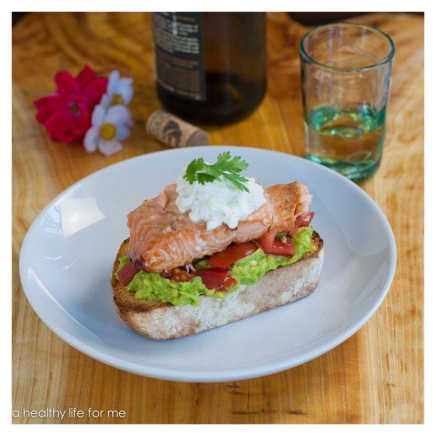 Glaze Feta Aioli Tomato Superfood Avocado Healthy