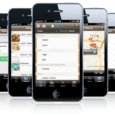 Saving & Printing Recipes on A Healthy Life For Me with Ziplist