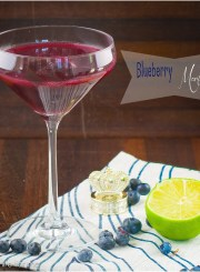 Blueberry Martini