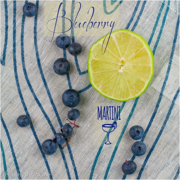 Fresh Blueberries Chambord Vodka Honey Lime Juice