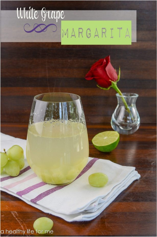 White Grape Margarita Cocktail | Margarita Day Cocktail Round Up