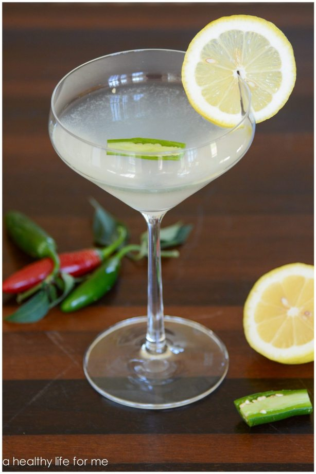 Gin Serrano Chile Lemon Juice Honey