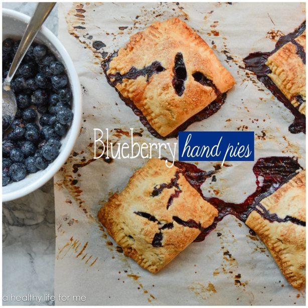 Blueberry Hand Pies made with fresh blueberries