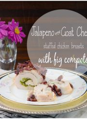 jalapeño goat cheese stuffed chicken recipe | ahealthylifeforme.com