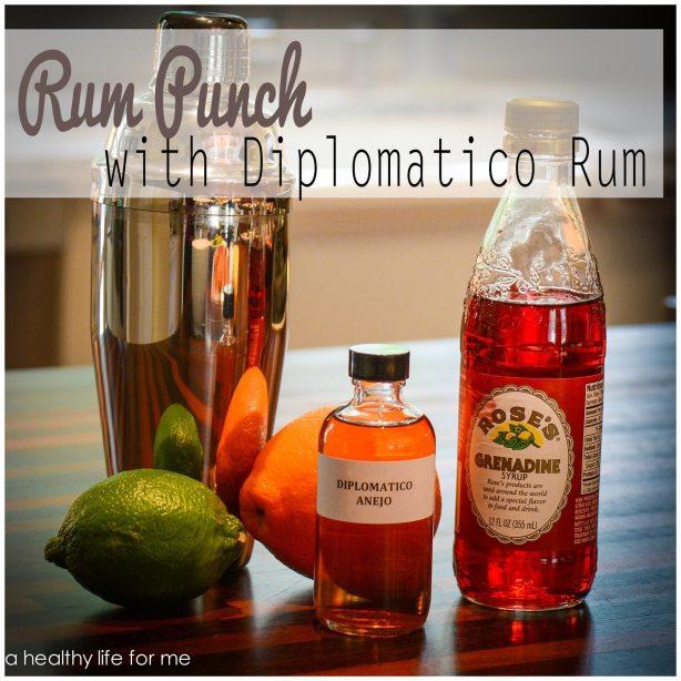 Rum Punch Ingredients Diplomatico Rum