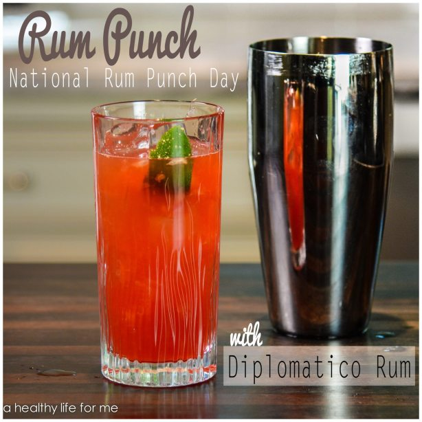 Rum Punch with Diplomatico Rum