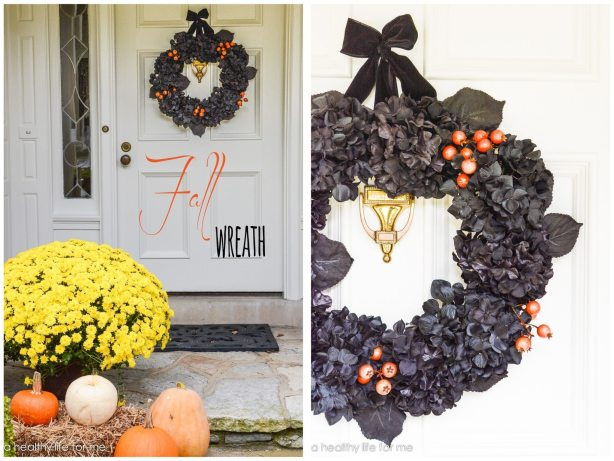 Fall Wreath DIY at home