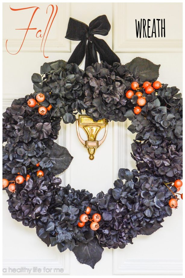 Hand Made Fall Wreath DIY