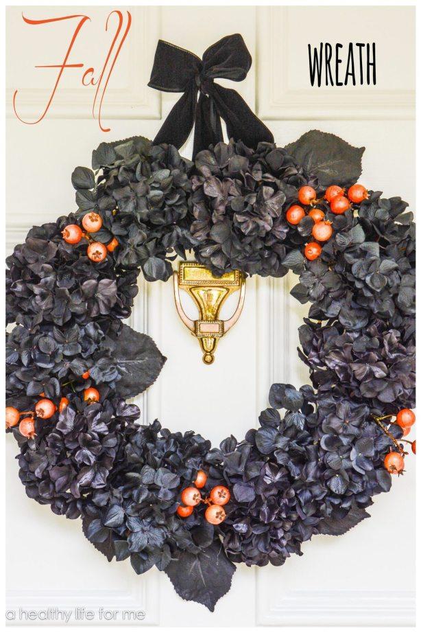 Hand Made Fall Wreath DIY