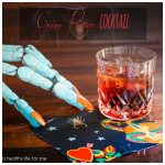 grim reaper cocktail recipe for halloween | ahealthylifeforme.com